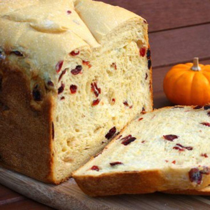 Pão de Laranja e Cranberry   Máquina de Pão