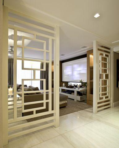 painel madeira trabalhado criatividade home theater