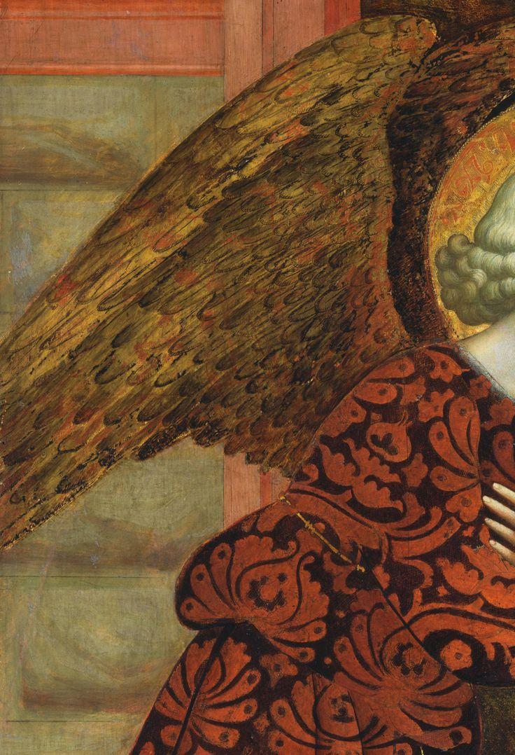The Angel Gabriel (detail), 15th c., Masolino da Panicale