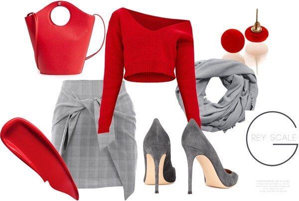 #nyiriandrea #jewelrydesigner #jewelrymaker #red #grey #vibrant #polyvoreootd #polyvore #ootd #mitvegyekfel