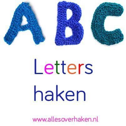 Beroemd Alfabet Haken Patroon #QX32