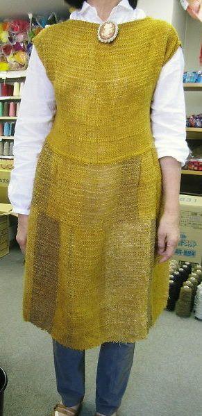 手織適塾さをり 横浜通信 -さをり織り情報ブログ |いろんなかたちで身に着けてます♪