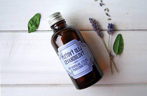 ModraPupava / Pleťový olej levanduľový v skle (50 ml)