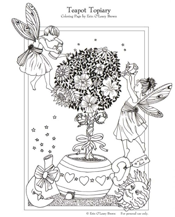 Fairies hadas pinterest hada colorear y duendes for F 35 coloring pages