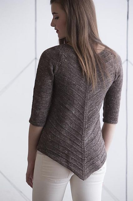 Ravelry: Pointed Tunic pullover knitting pattern by Beatrice Perron Dahlen