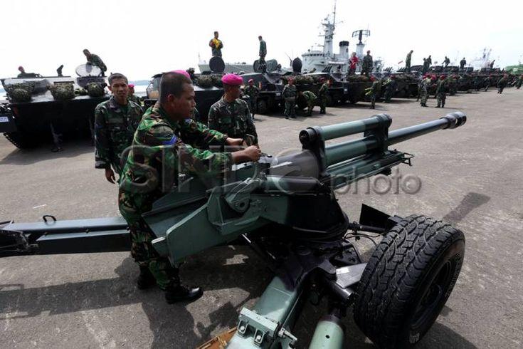 Prajurit TNI AL siap ikuti Latgab 2014