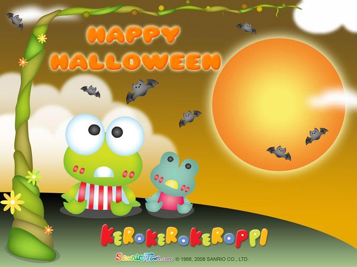 Halloween Wallpaper - keroppi Wallpaper