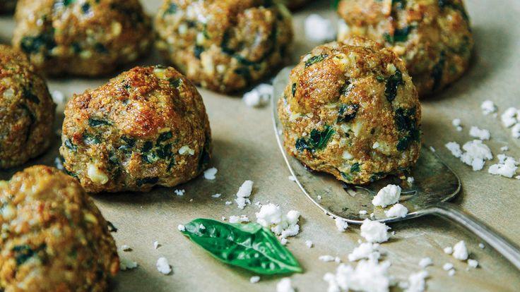 Basil Chicken Meatballs