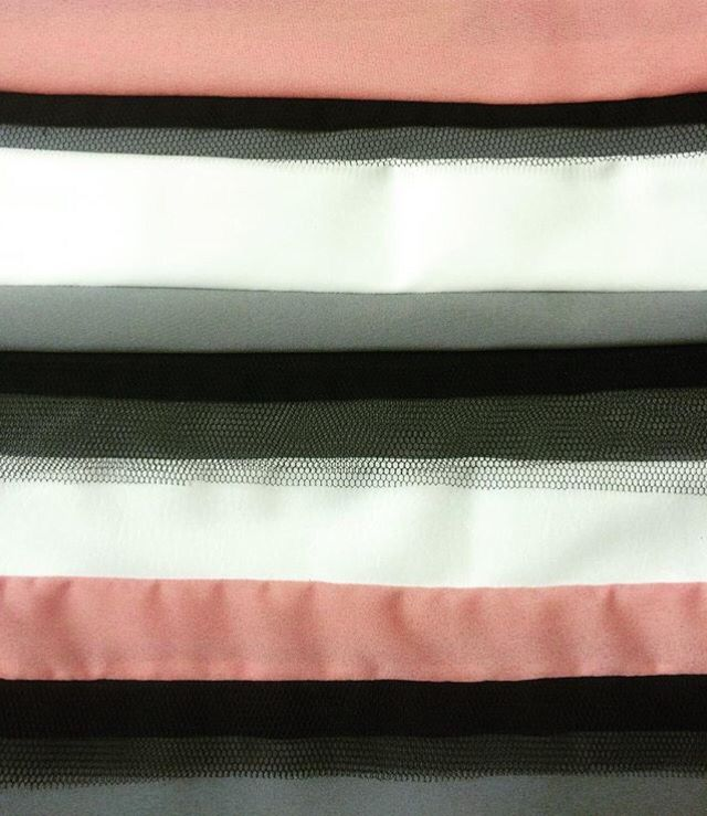 Stripes. Sewing. Textile. Design. Blonde.
