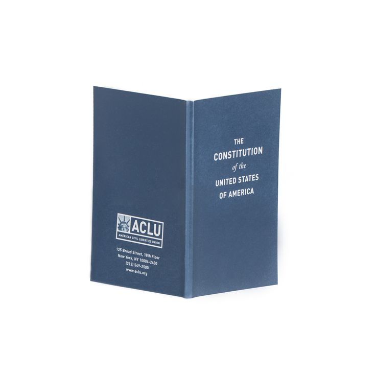 ACLU Pocket Constitution of the United States | ACLU Official Store - American Civil Liberties Union