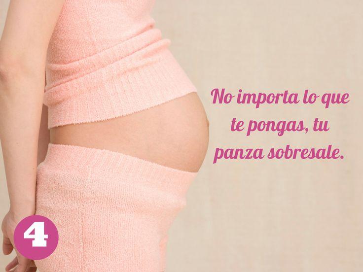 Embarazo: 15 señales divertidas que tienes una panza enorme | Blog de BabyCenter