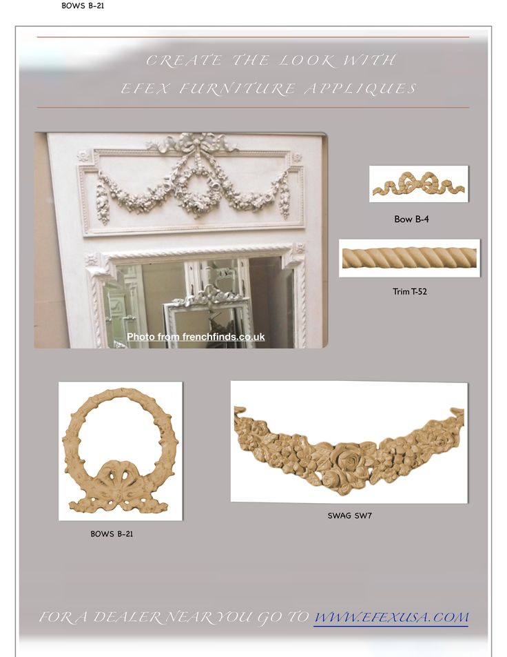 An easy DIY mirror. Our website has loads of information on how to build and decorate mirrors.