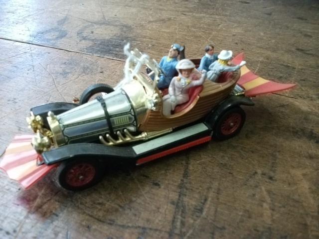 Chitty chitty bang bang vintage toy car