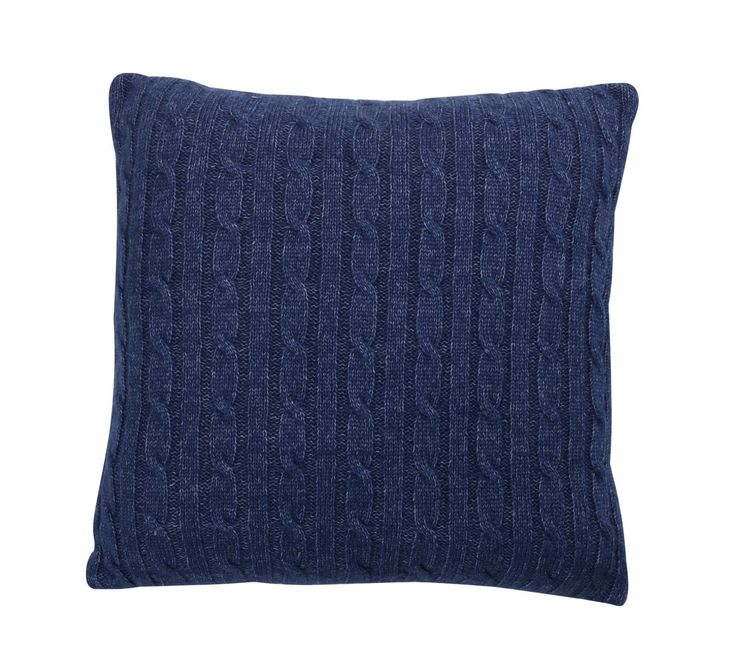 Cosy up with this textured knitted cushion.  Priced at £18. #sainsburys #autumndreamhome