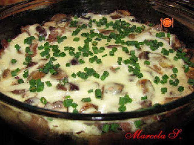 Ciuperci cu sos de smantana la cuptor, poza 2