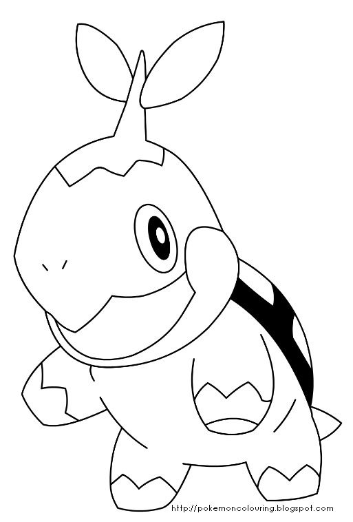 Chikorita Cyndaquil Totodile Coloring Pages - Marcpous