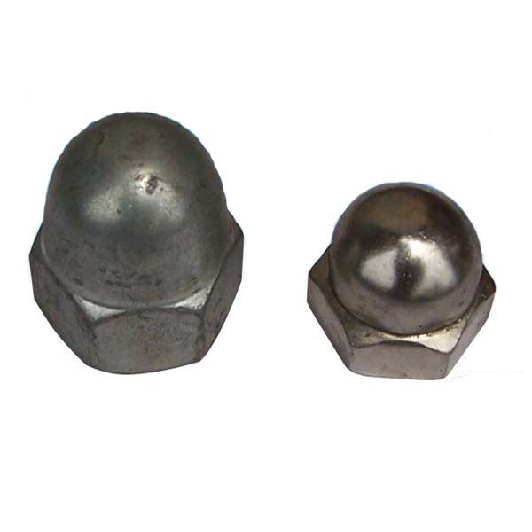 Acorn Nuts Also Known As Cap Nuts Feature A Domed Fastener Head Which Protects Screws And Bolts From Stripping Allowing For Reus Screws And Bolts Cap Helmet