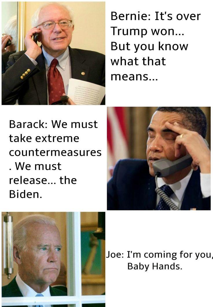 Joe Biden Barack Obama Bernie Sanders Donald Trump