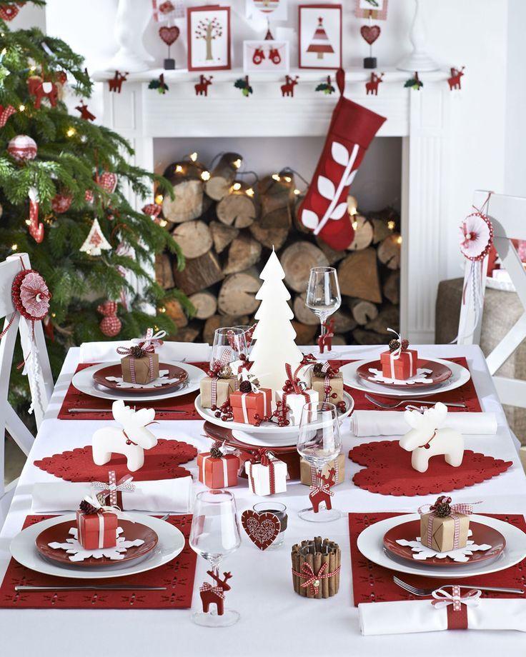 Des Idees Deco Pour Votre Table De Noel Deco Table Noel