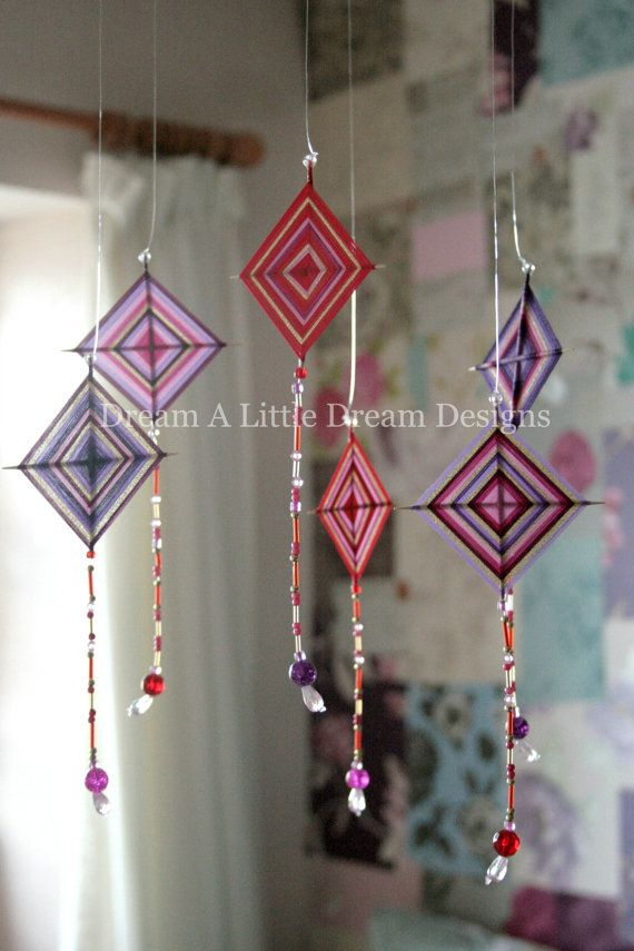 Mobile Home Decor Gods Eye Ojo de Dios Decoration Handmade ...