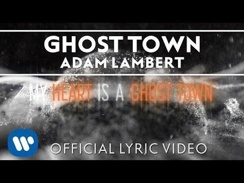 """Roach @guy1_big  ·  3h 3 hours ago Adam Lambert - """"Ghost Town"""" [Official Lyric Video] https://youtu.be/toDqvHvTN7c?list=RDD05NewQpqxg … via @YouTube my heart is a ghost ttt town nnnnnnnn"""