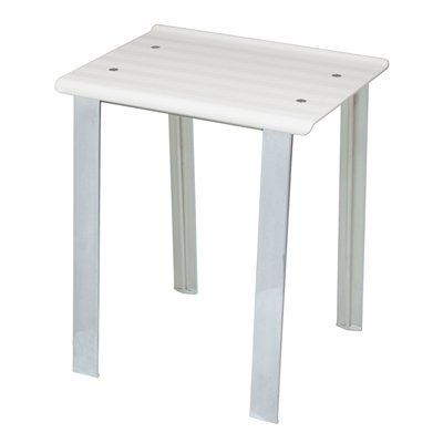 WS Bath Collections Leo 5370 Collection Complements II Bathroom Stool
