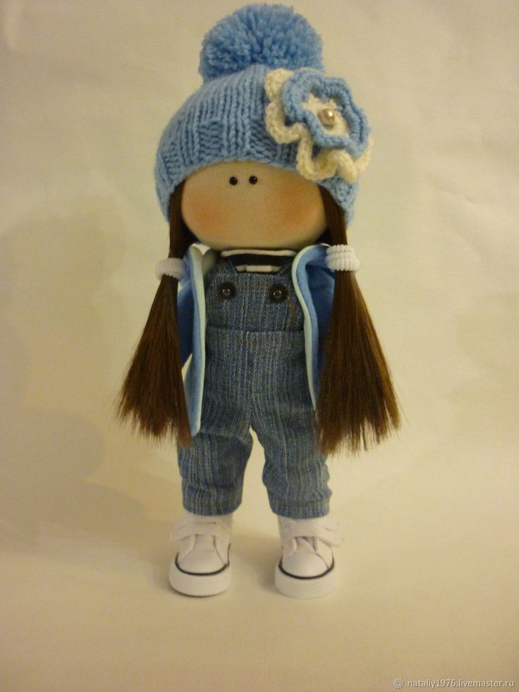 Купить Интерьерная куколка -малышка в интернет магазине на Ярмарке Мастеров