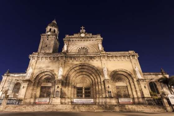 Manila, Filipinas: Segunda maior cidade do país em número de habitantes e capital das Filipinas, Man... - Shutterstock