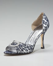 Manolo Blahnik: Women'S Shoes, Blahnik Metals Leopards, Blahnik 55, Leopards Jacquard, Blahnikmet Leopards, Leopards Prints, Shoes Closet, Manolo Blahnikmet, Shoes Heels