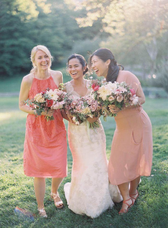 Family Farm Wedding in Vermont: Farms Wedding, Only Huang, Bridesmaid Style, Huang Photography, Bridesmaid Bloom, Families Farms, Real Wedding, Backyard Wedding, Futureengag Wedding