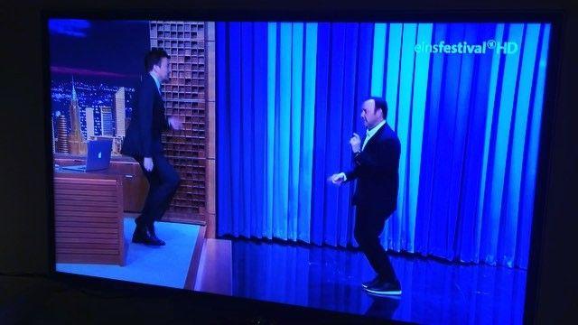 _ new im #germantv #tvstation #einsfestival #hd #latenightshow #tonight #jimmyfallon #tonightshowwithjimmyfallon #kevinspacey #houseofcards #nbcnewyork #lastnight #instacool #instatv #FallonTonight