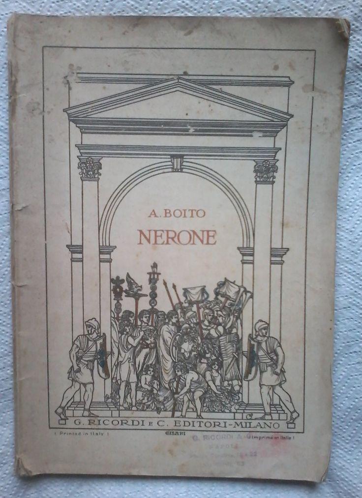 Amazon.it: NERONE, tragedia in cinque atti - Boito Arrigo - Libri