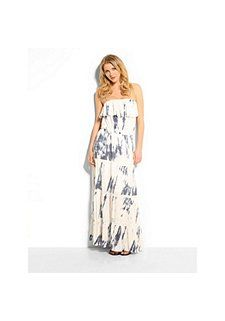 Guess Kleid »Strapless Marble Maxi«