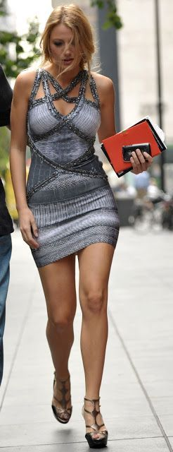 Serena van der Woodsen style: Dan de Fleurette. Ok blake lively is like the sexiest woman alive. Loved her in gossip girl and all her clothes