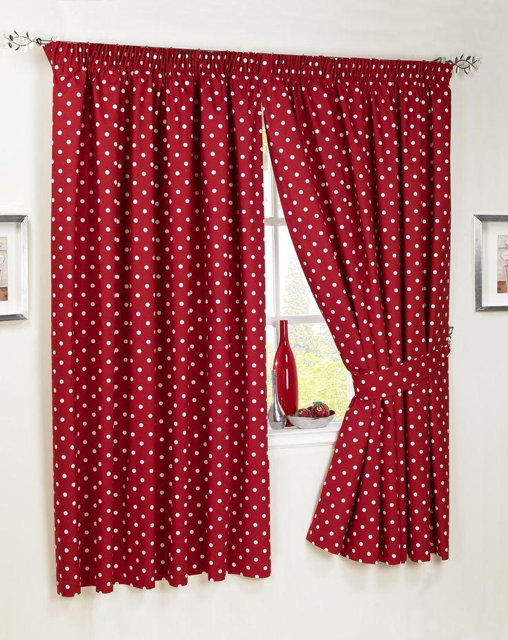 1000 id es sur le th me rideaux de cuisine rouge sur pinterest rideaux tirants rideaux de la. Black Bedroom Furniture Sets. Home Design Ideas