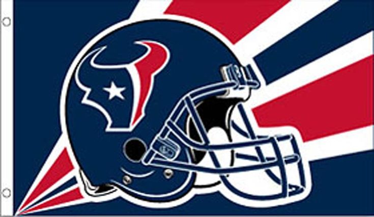 Houston Texans 3' x 5' Helmet Design Flag: This high quality Houston Texans flag is constructed of… #Sport #Football #Rugby #IceHockey