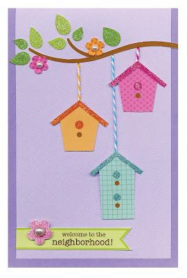 cute card made using cricut doodlebug cartridge - going to have to get that…