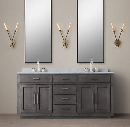 Bathroom sink restoration