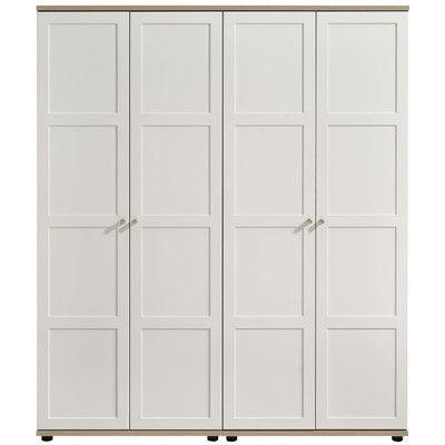 Home Essence Gemini 4 Door Wardrobe   Reviews   Wayfair UK. Top 25 ideas about 4 Door Wardrobe on Pinterest   Built in