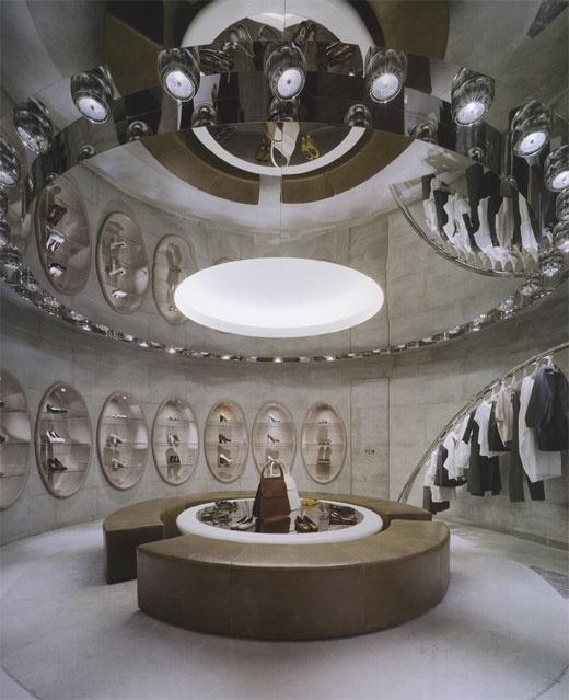 Marni store in Ayoma (Tokyo, Japan) designed by Sybarite