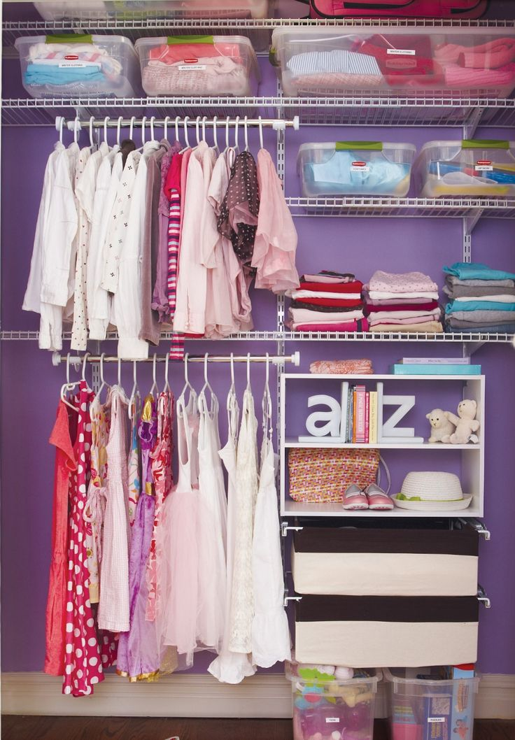 To Maximize Space In Your Closet Use Double Hanging Areas