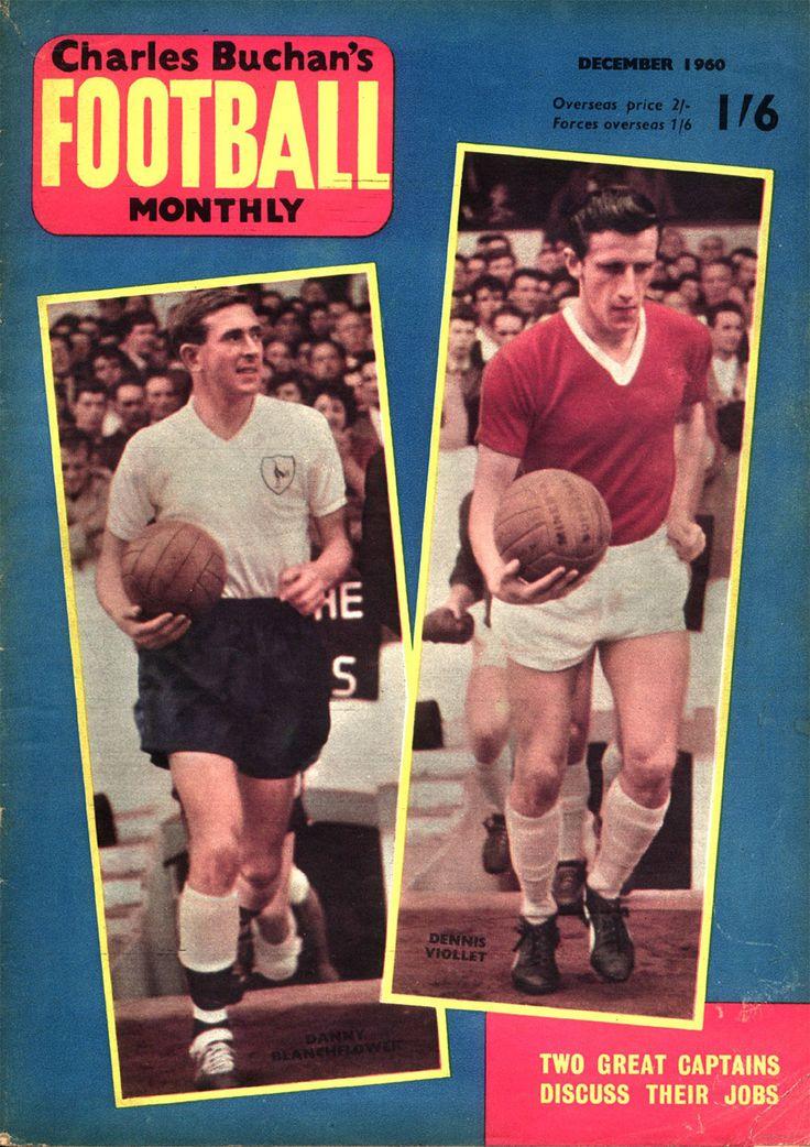 Charles Buchan's Football Monthly | Soccer Attic Danny Blanchflower and Dennis Violett