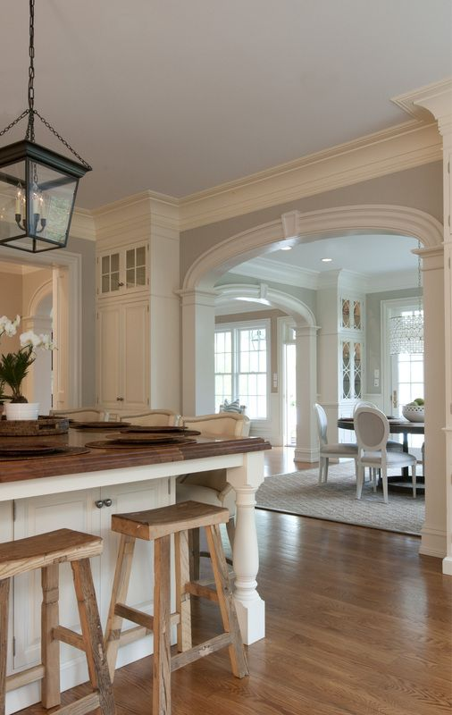 Great use of corner cabinetry