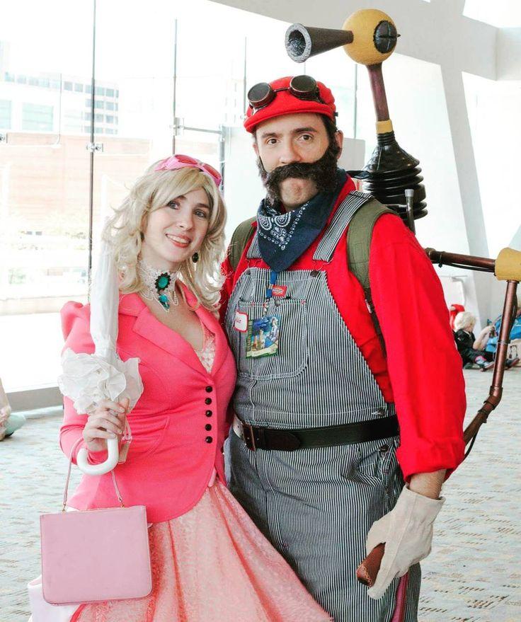 Cosplayer:  Mario and Princess Peach  TakenBy: @Foreverbluedigital #Otakon2015 #4evercosplay ------------------------------------------------------------------------- #cosplay #cosplayer #cosplaygirl #cosplayers #cosplaying #animecosplay #cosplayphotography #cosplayersofinstagram #cosplaylife #instacosplay #cosplaymodel
