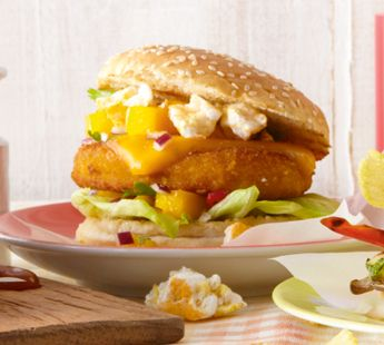 Cheesy chicken burger - Recept - Jumbo Supermarkten
