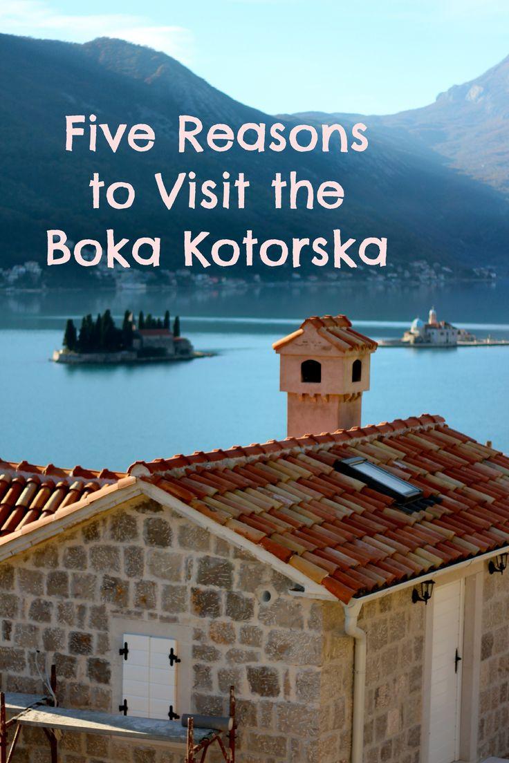 Five Reasons to Visit Montenegro's Bay of Kotor #mbug