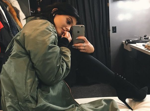 Kylie Jenner Pregnant? New Photo Sparks Tyga Baby Rumors