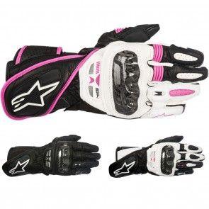 Alpinestars Racing Stella SP-1 Womens Sport Street Leather Motorcycle Gloves