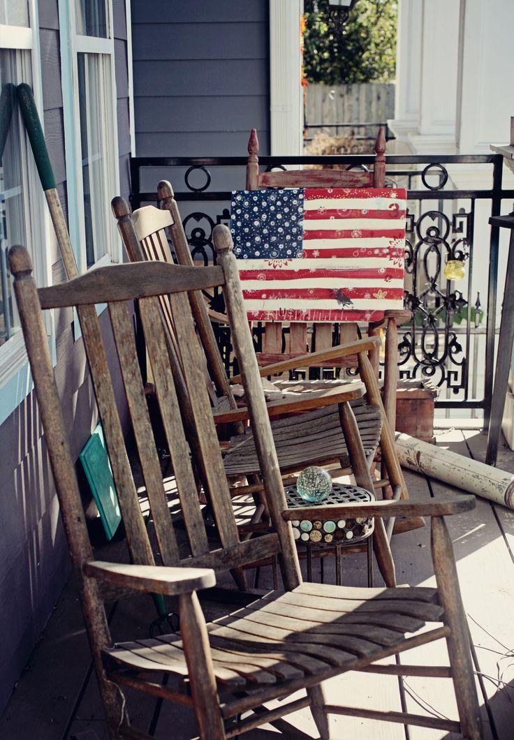 Интересный американский флаг