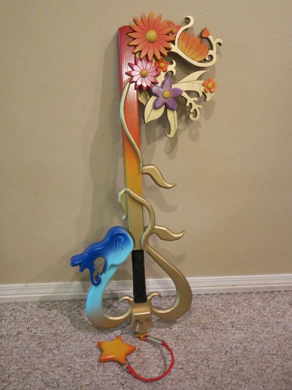 Kairi's Destiny Embrace Keyblade inspired by by AimeeWoodWorks